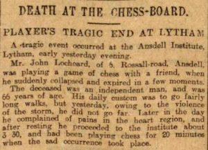Lancashire Evening Post, November 2 1910