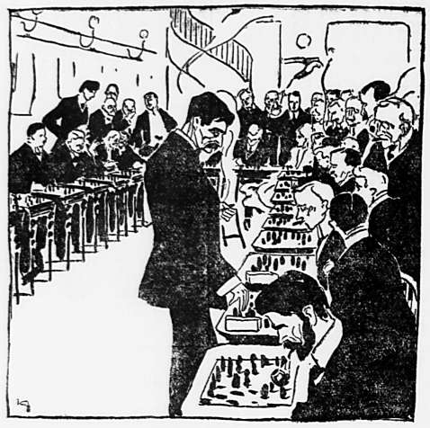 Politiken, July 10 1908.